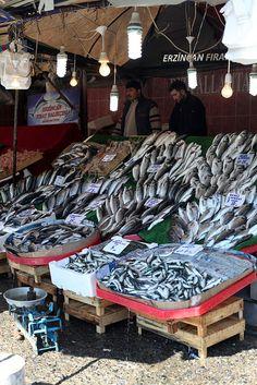 Bosphorus Fish Market . Istanbul