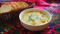 zupa ogórkowa, sour cucumber soup, polish, traditional polish cuisine, soups, ogórki kiszone
