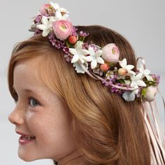 The FTD® Lila Rose™ Headpiece. Weddings by PJ includes family and friend travel to your destination wedding! www.destinationweddings.travel
