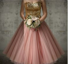 Sweetheart Top Sequin Gold And Pink Bridesmaid Dresses Party Dresses Robe Demoiselle D'honneur Cheap Bridesmaid Dresses