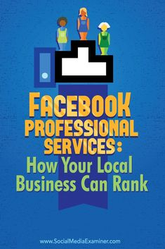 connect with local customers using facebook professional services