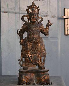 Antiques China Temple Natural Shoushan Stone Carve Dragon Arhat Damo Dharma Buddha Statue