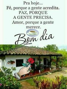 Frases de bom dia com paisagens da roça e campo Pergola, Outdoor Structures, Outdoor Decor, Gifs, Cute Good Morning Messages, Good Morning Photos, Good Morning Hug, Morning Messages, Powerful Quotes