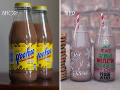 DIY Christmas Themed Bottles & Mugs + Silhouette Black Friday Deals! « Company Review « Marvelous Mommy