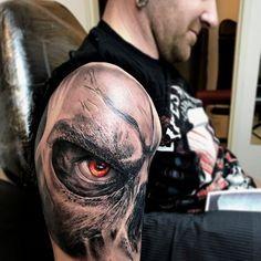 Darksiders gamer Tattoo from Blanka in Selfmade Tattoo Berlin - Tattoos - Selfmade Tattoo Berlin - Tattoo Gamer Tattoos, Hand Tattoos, Badass Tattoos, Body Art Tattoos, Sleeve Tattoos, Tattoos For Guys, Tatoos, Warrior Tattoos, Tatuaje Trash Polka