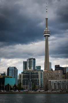CN Tower on the Toronto Harbourfront
