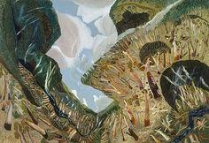 An image of Wispy landscape by William Robinson Australian Painting, Australian Artists, Seascape Paintings, Landscape Paintings, Tree Paintings, Landscapes, Contemporary Landscape, Abstract Landscape, Landscape Illustration