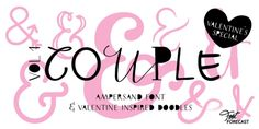 Couple Vol1 font download