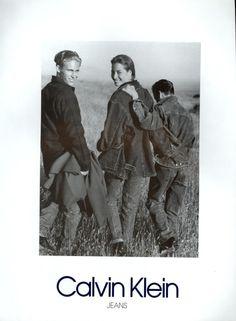 Calvin Klein FW 1989 | Christy Turlington by Bruce Weber