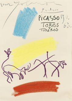 aubreylstallard: Picasso, Toros y Toreros (1963)