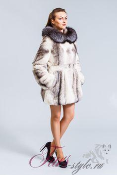Куртка норковая с капюшоном | | Furs-style.ru - Интернет магазин Пятигорских меховых фабрик. Шубы Пятигорска.