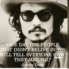 one day - Johnny Depp