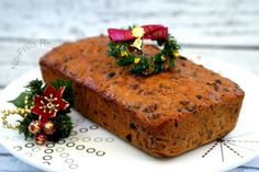 This Mixed Fruit Cake is not so dense but more cake-like than most other fruit cake recipes.  Feed it  regularly with Rum, Brandy or Whi...