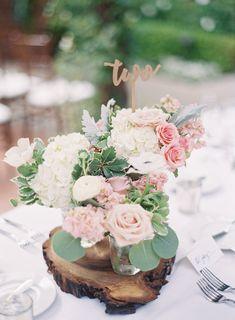 Featured Photographer: Sposto Photography; wedding centerpiece idea