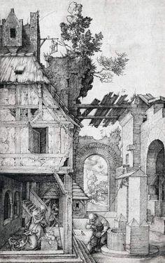 Albrecht Dürer - Die Geburt Christi