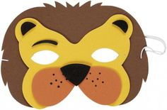 Lion Mask (eva Soft Foam) for Fancy Dress with fast delivery buy now.From Gifts N Party Paper Plate Masks, Paper Mask, Lion Face Mask, Daniel And The Lions, Lion Craft, Jungle Party, Jungle Safari, Animal Masks, Baby Costumes