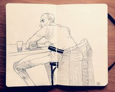 1.2 Sketchbook 2013 by Jared Muralt, via Behance