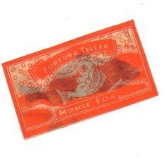 vintage cellophane  fish | visit etsy com