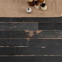 Italtile #wood #woolook #trend #tile Blend Art Dark Matt Glazed Porcelain Tile 150x1200mm