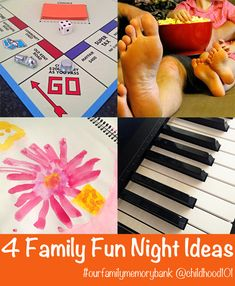 Our Family Memory Bank #4: Plan a Family Fun Night - Tips For Parents  -->  http://kidsmakingchange.com/