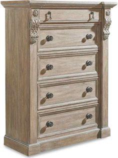 ART Furniture - Arch Salvage Jackson Drawer Chest - Parch - 233150-2802