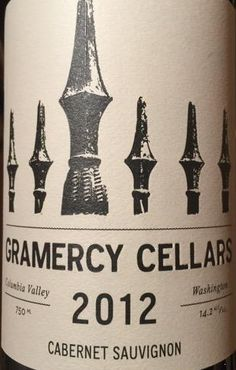 2012 Gramercy Cellars Cabernet Sauvignon Columbia Valley
