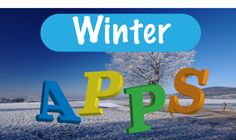 Apps thema Winter voor kleuters