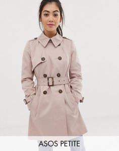 Order ASOS DESIGN Petite trench coat online today at ASOS for fast delivery, multiple payment options and hassle-free returns (Ts&Cs apply). Get the latest trends with ASOS. Petite Trench Coat, Trench Coat Style, Safari, Coatdress, Tux Dress, Internet Explorer, Petite Outfits, Petite Dresses, Accessories