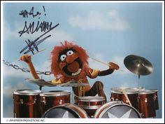 Drummer extraordinaire.
