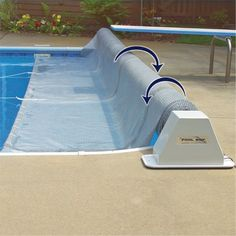Aqua Splash Pro Inground Solar Cover Reel System Solar