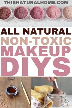 These DIY natural makeup tutorials will have your skin glowing. The best part is that you can customize the makeup colors to your exact taste!