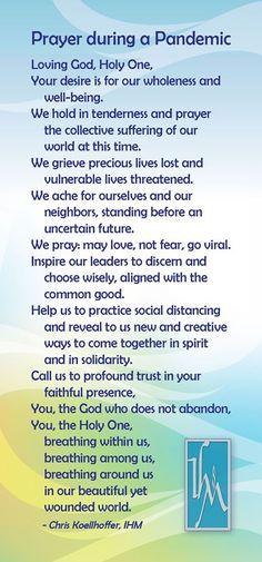 A prayer for the Pandemic Prayer For Discernment, Prayer For Wisdom, Prayer For The Day, Prayer For Family, Prayer Scriptures, Bible Prayers, Prayer Prayer, Healing Prayer Quotes, Spiritual Prayers