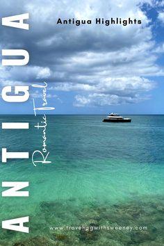 Highlights of Antigua, a romantic Caribbean island -- adventure, food, romance and more! #destinationtakeover #antiguaandbarbuda #caribbeantravel #travel #antigua #islandlife Caribbean Resort, Caribbean Vacations, Antigua Caribbean, Caribbean Sea, Cruise Vacation, Vacation Trips, Beautiful Places To Visit, Cool Places To Visit, Travel Inspiration