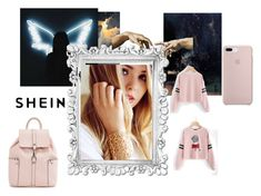 """SHEIN"" by adianasi ❤ liked on Polyvore"