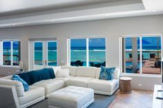 Present Moment Vacation Rental, Grand Cayman, Caribbean.  Amazing views from the Living Room.