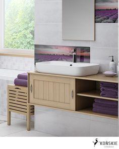 tiles I bathroom I plytki I lazienka Diy Bathroom Decor, Budget Bathroom, Bathroom Organization, Small Bathroom, Double Vanity, House, Home Decor, Design, Small Shower Room