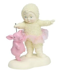 Look what I found on #zulily! This Little Piggy Wants Figurine #zulilyfinds Little Girl Ballet, Ballet Girls, Little Girls, This Little Piggy, Cute Pigs, Pink Tutu, Classic Collection, Teddy Bear