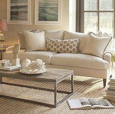 traditional sofa PIERCE  Williams Sonoma Home also Pottery Barn Essex sofa