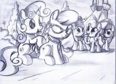 Finally as friends - sketch by Ruhisu.deviantart.com on @DeviantArt