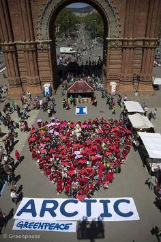 Barcelona ♥ Ártico. Participá ahora en www.salvaelartico.org