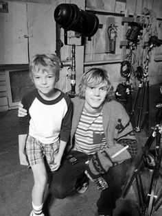 american horror story. Ok this is so cute its Tate and little Tate.