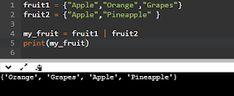 Coders World: Sets in python