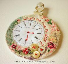 Clock - great with real mechanism too... hens teeth