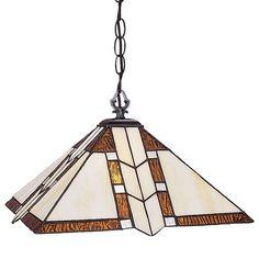 Z-Lite Z14-608-01 Prairie Garden 1 Light Full Sized Pendant with Multi-Colored T Antique Brass Indoor Lighting Pendants