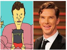 [PIC] FYI, Benedict Cumberbatch = Butt-Head , Cannot not be unseen.