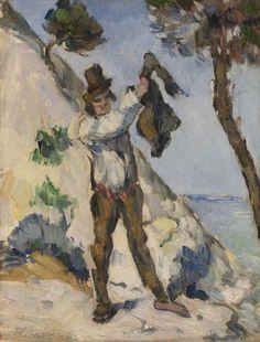 Paul Cézanne - Man with a Vest (L'Homme à la veste) 1873 Barnes