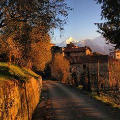 Terenzano e le Alpi Apuane