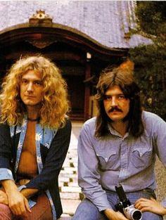 Plant & Bonham #ledzeppelin #forthosewholiketorock