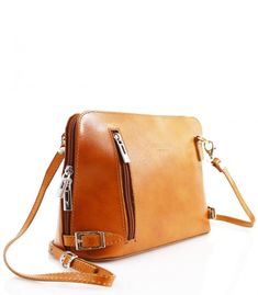 fbaac9bb64 Italian Vera Pele Leather VPB18 Leather Women Girls Cross Body Shoulder  Side Bag