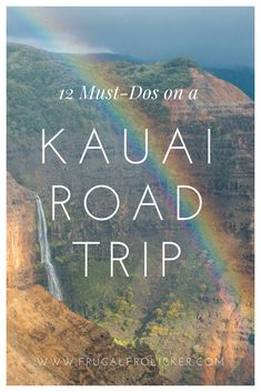 Kauai itinerary: what to do on a Kauai road trip including camping in Kauai, Kauai beaches, hiking the Kalalau Trail, and the best places to eat in Kauai. Kauai Vacation, Hawaii Honeymoon, Hawaii Travel, Tropical Vacations, Honeymoon Ideas, Italy Vacation, Vacation Ideas, Vacation Spots, Oahu